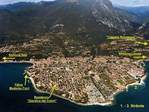 Lageplan von Toscolano Maderno