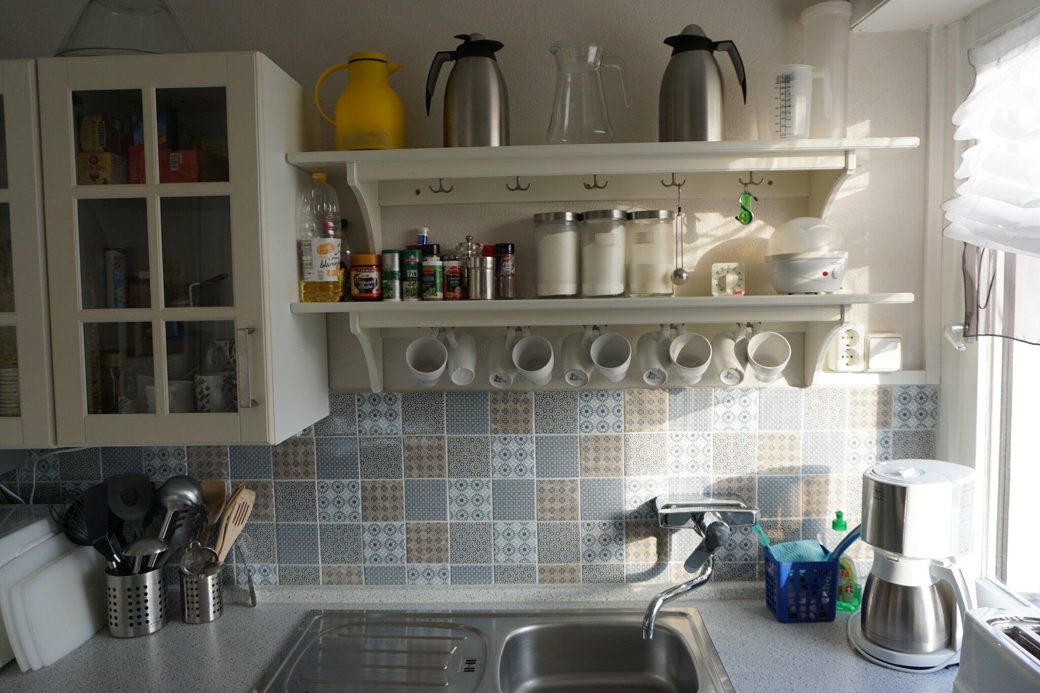 neue Küche nach Modernisierung 10.2010