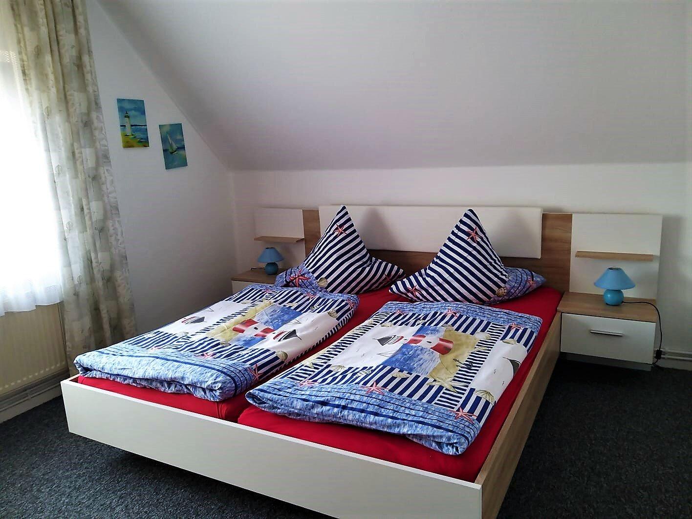 Oberwohnung Schlafzimmer