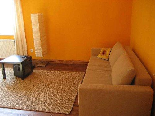 Wohnzimmer, Schlafsofa für Zwei