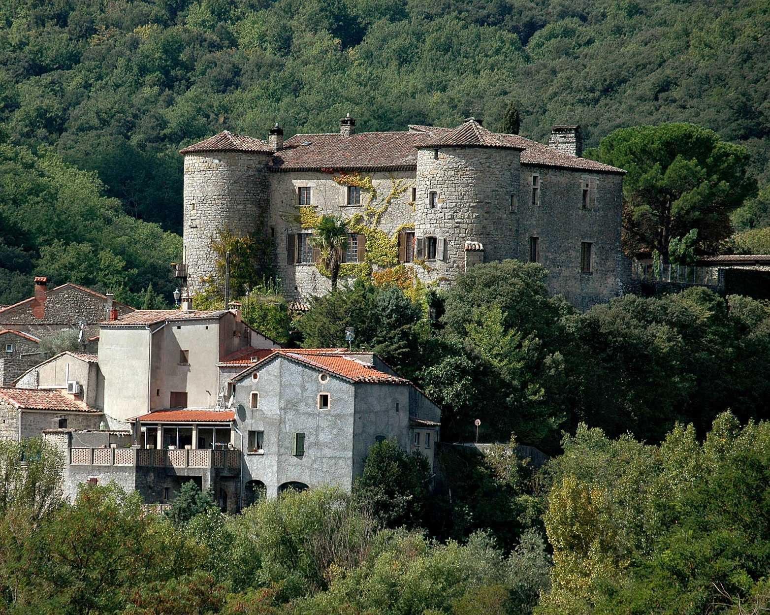 Das 'Château de La Tour' bei Alès (Gard)