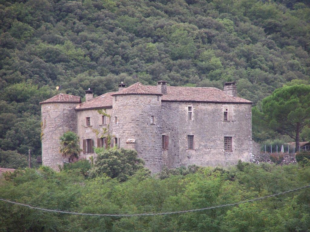 Gesamtansicht der Burg