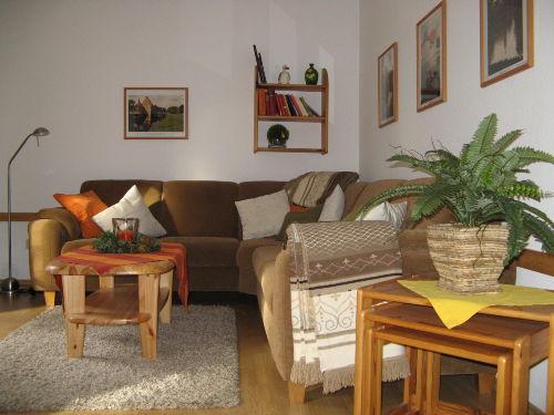 Wohnbereich mit Ecksofa
