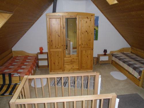 Schlafraum2/Dachgeschoss 2 Einzelbetten