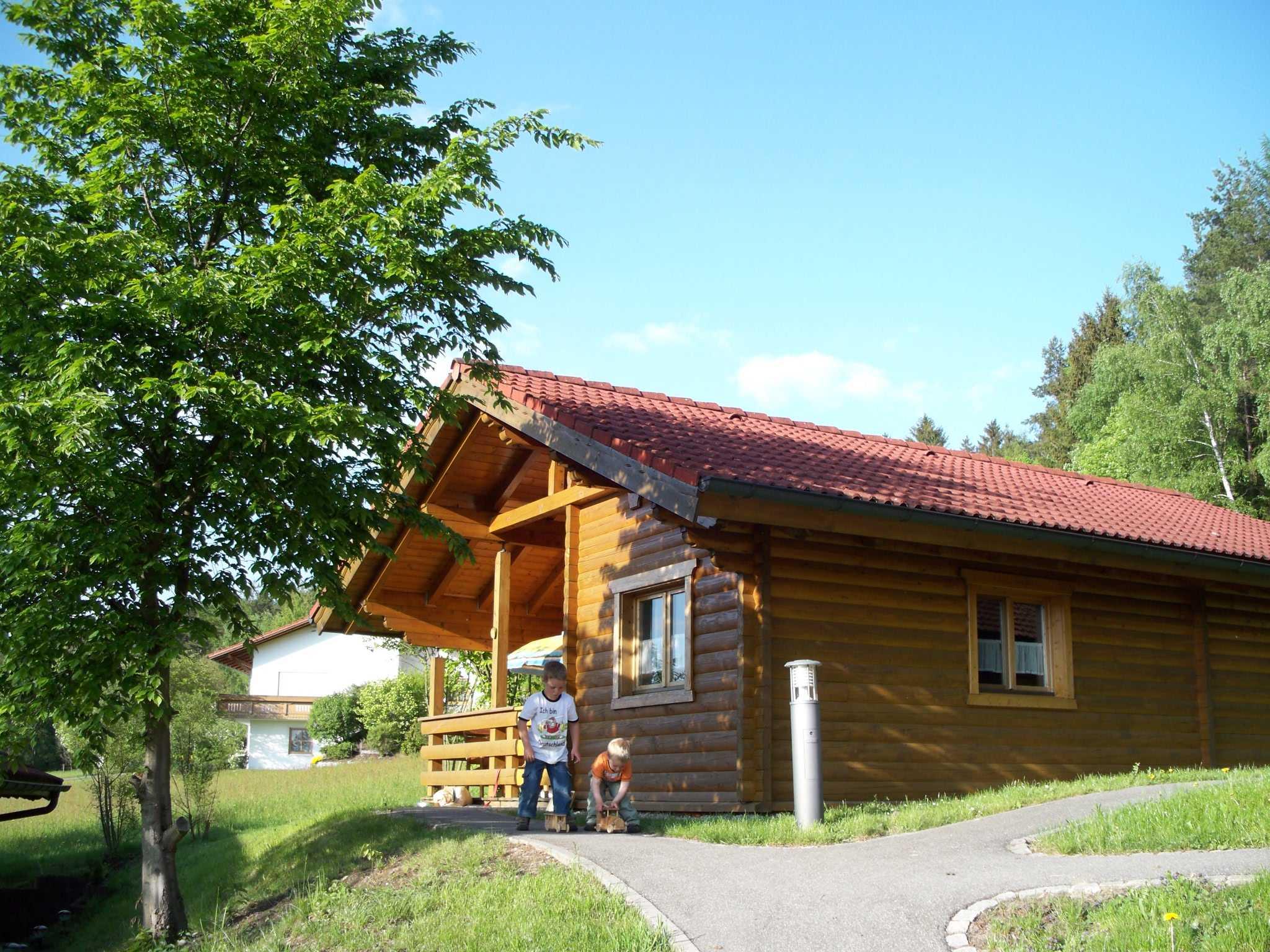 Blick auf Haus 4