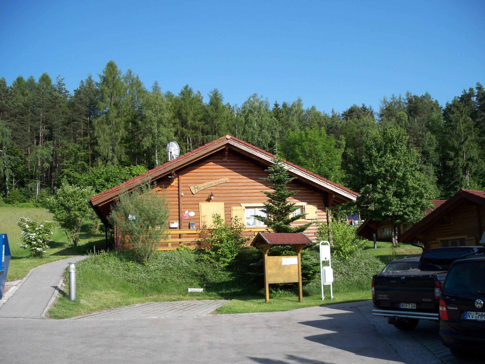 Rezeption mit Sauna,Wasch- u. Trockner