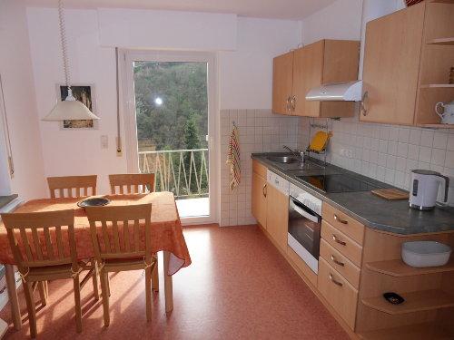 Teil der Küche m.Austritt zum Balkon