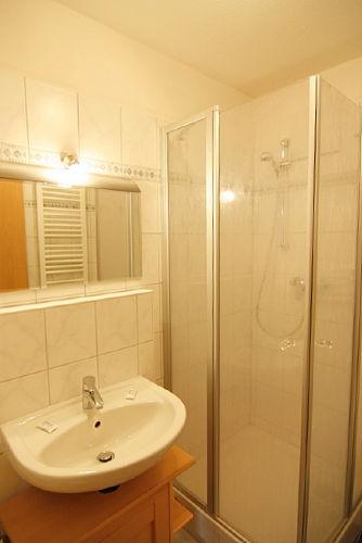 Duschbad mit Fußbodenheizung