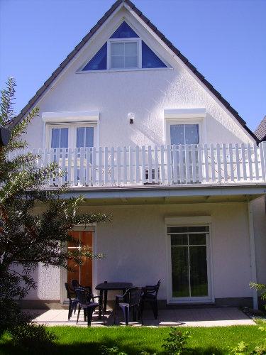 Terrasse auf der Ostseite