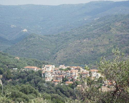 Blick auf Ripalta von Castelazzo