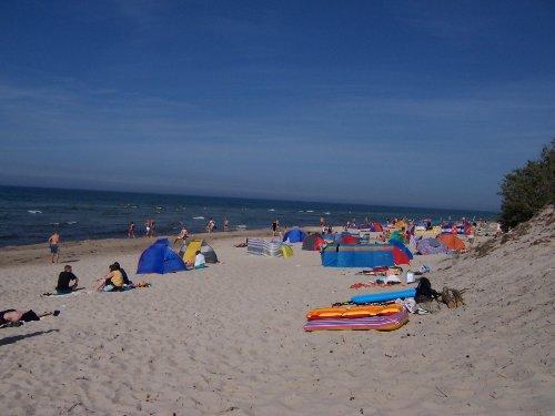 """Der Strand am """"Mövenort"""""""