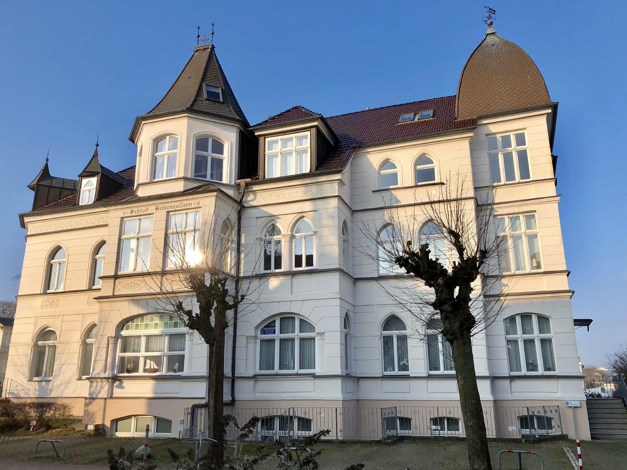 Haus Schloss Hohenzollern in Ahlbeck