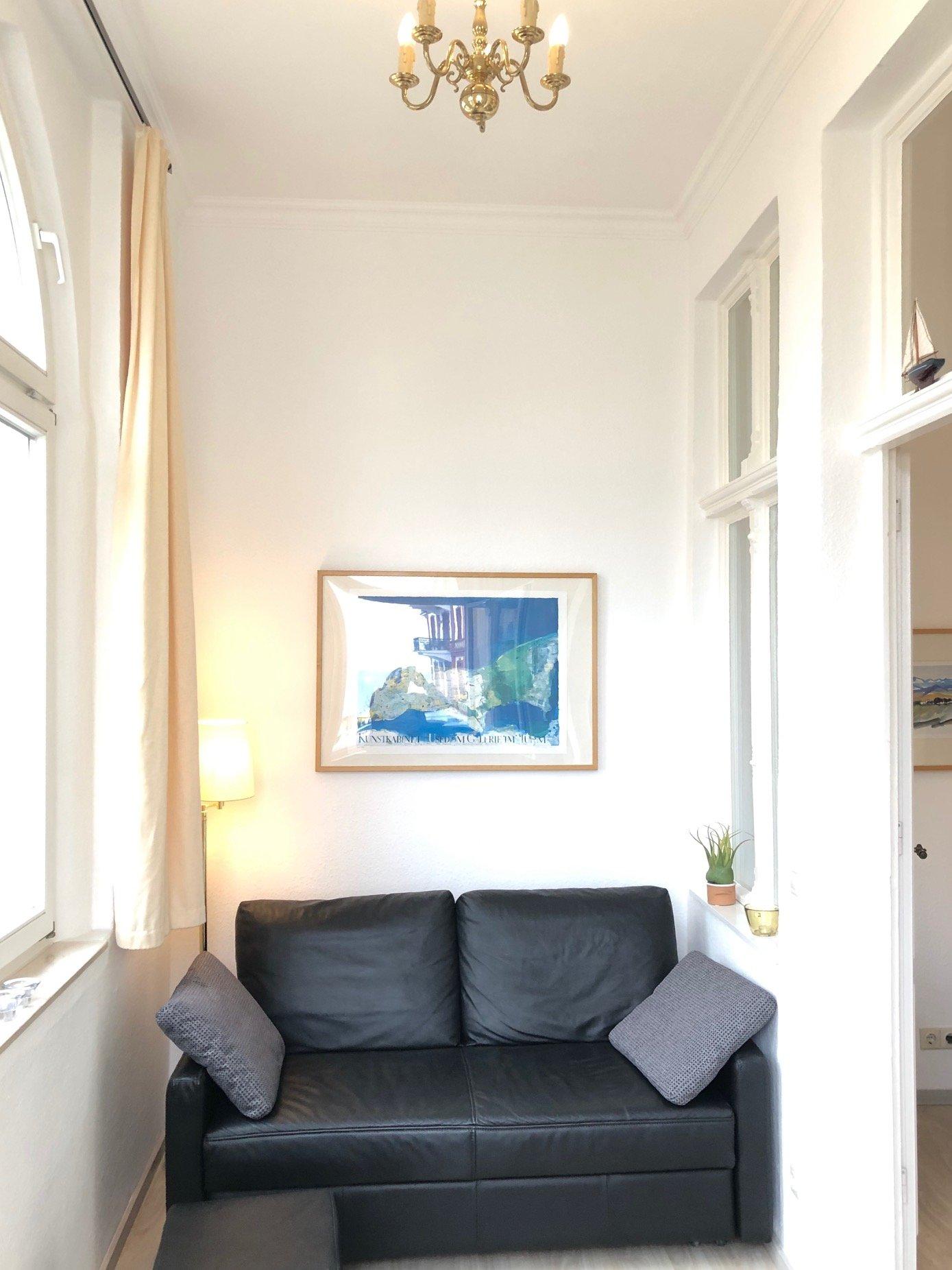 Sofa im Verandazimmer