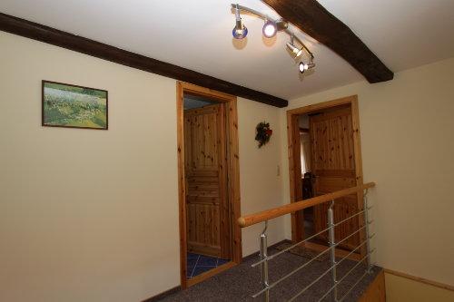 Korridor im Obergeschoss.