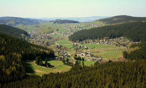 Rittersgrün im Erzgebirge