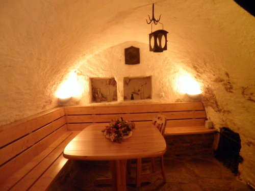Historischer Geleuchtraum