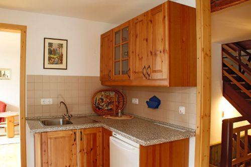 Küchenzeile im Obergeschoss