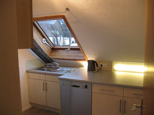 Die Küche mit Ausblick
