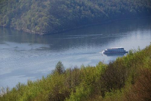 Die Schifffahrt auf dem Edersee