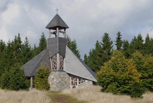 Die Quernstkirche im Nationalpark