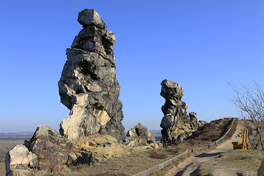 Tropfsteinhöhlen in Rübeland