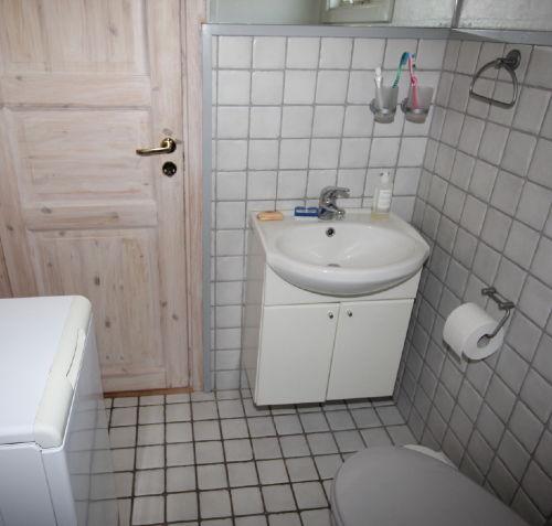 Neues Badzimmer mit Waschmaschine