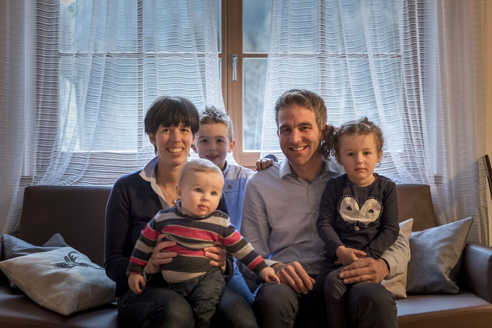Die Familie Stefan Gasser stellt sich vor