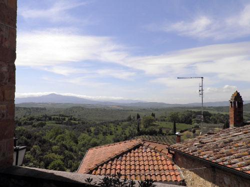 Ausblick Richtung Monte Amiata
