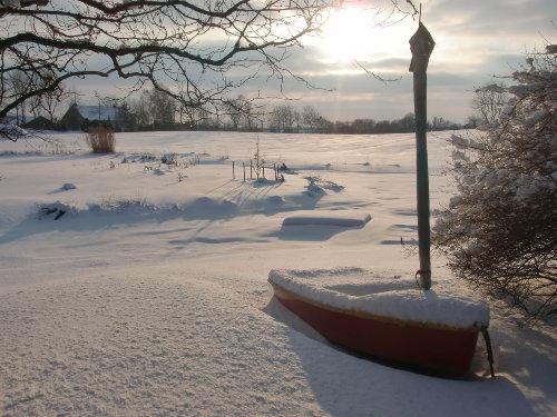 Winteridyll am Teich