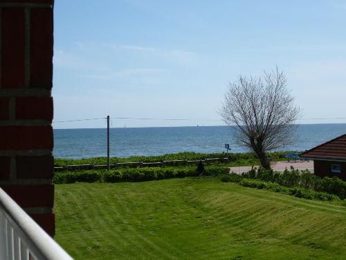 Blick von der Loggia auf die Ostsee
