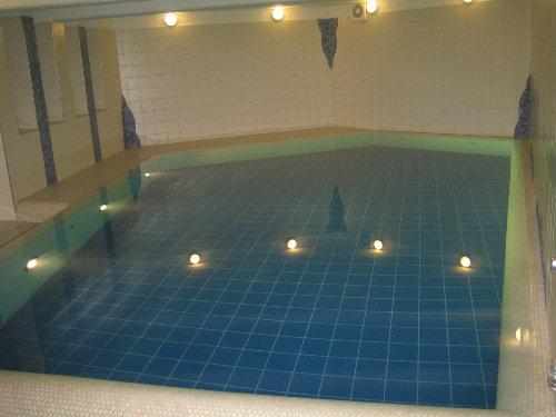Bei Kindern sehr beliebt, das Schwimmbad