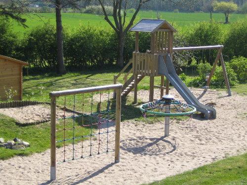 Unser Spielplatz für die kleinen Gäste