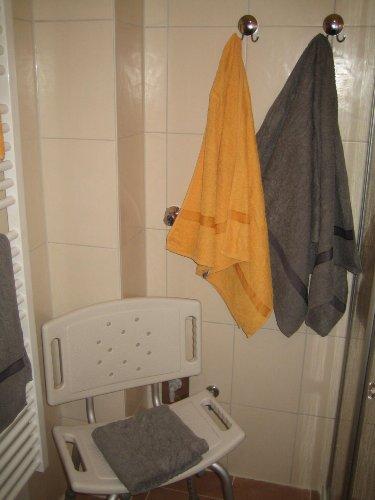 Sitzhocker f�r die Dusche