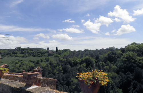 Casa Diana -Blick auf den Monte Amiata