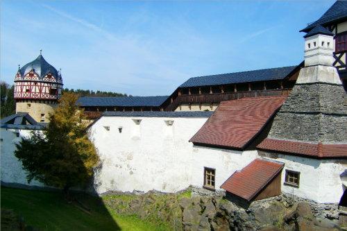 Schloss Burgk mittelalterl. Wehranlage