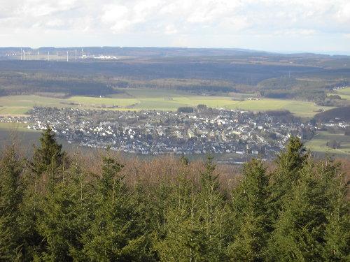 Rheinböllen von oben