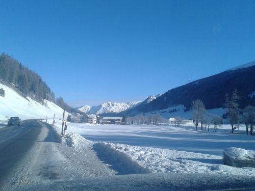 Winter - Schnee - Sonne