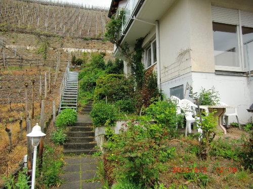 Eingang durch den Garten Hardtbergstr.17
