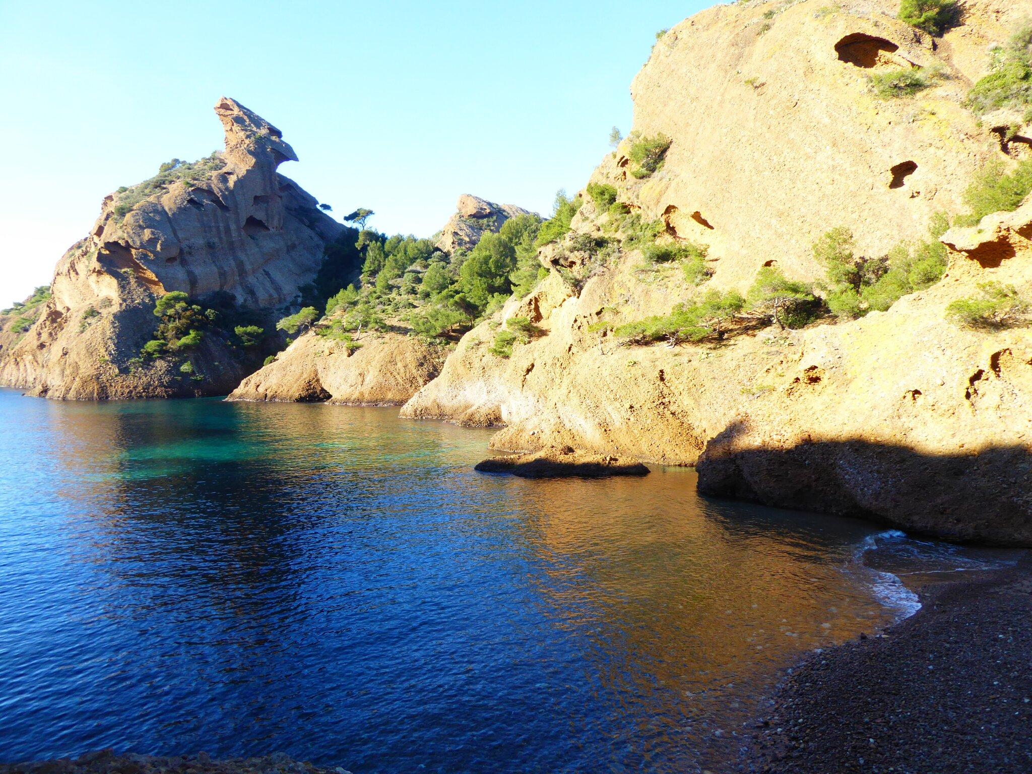 "Bucht ""En Vau"" im Nationalpark Calanques"