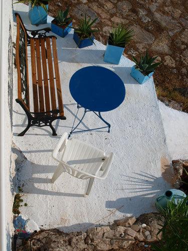 Capri-Wohnwagen und Hängematten