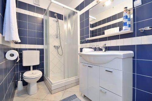 Blaue Wohnung - Badezimmer
