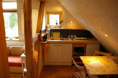 Küche und Essplatz Fewo 2