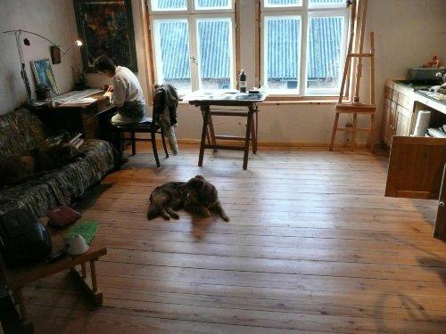 Ein Atelier im Alten Gutshaus