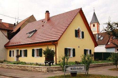 Aussenansicht Winzerhäusle zu Sasbach