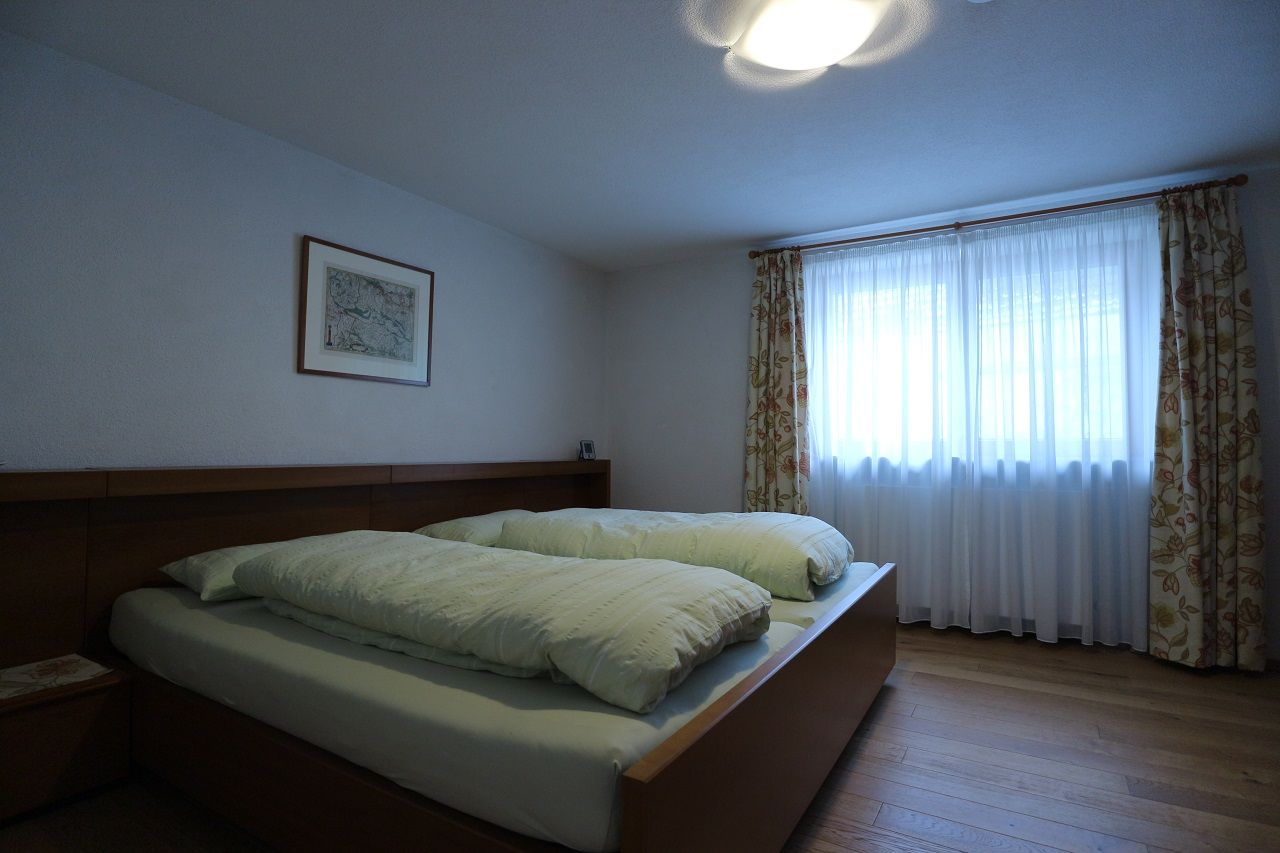 Bsp. für Schlafzimmer mit Doppelbett