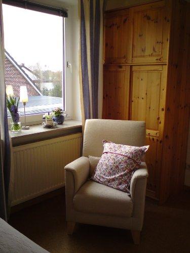 Ihr Leseplatz im Schlafzimmer...