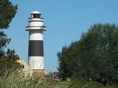 Der Leuchtturm in Strande