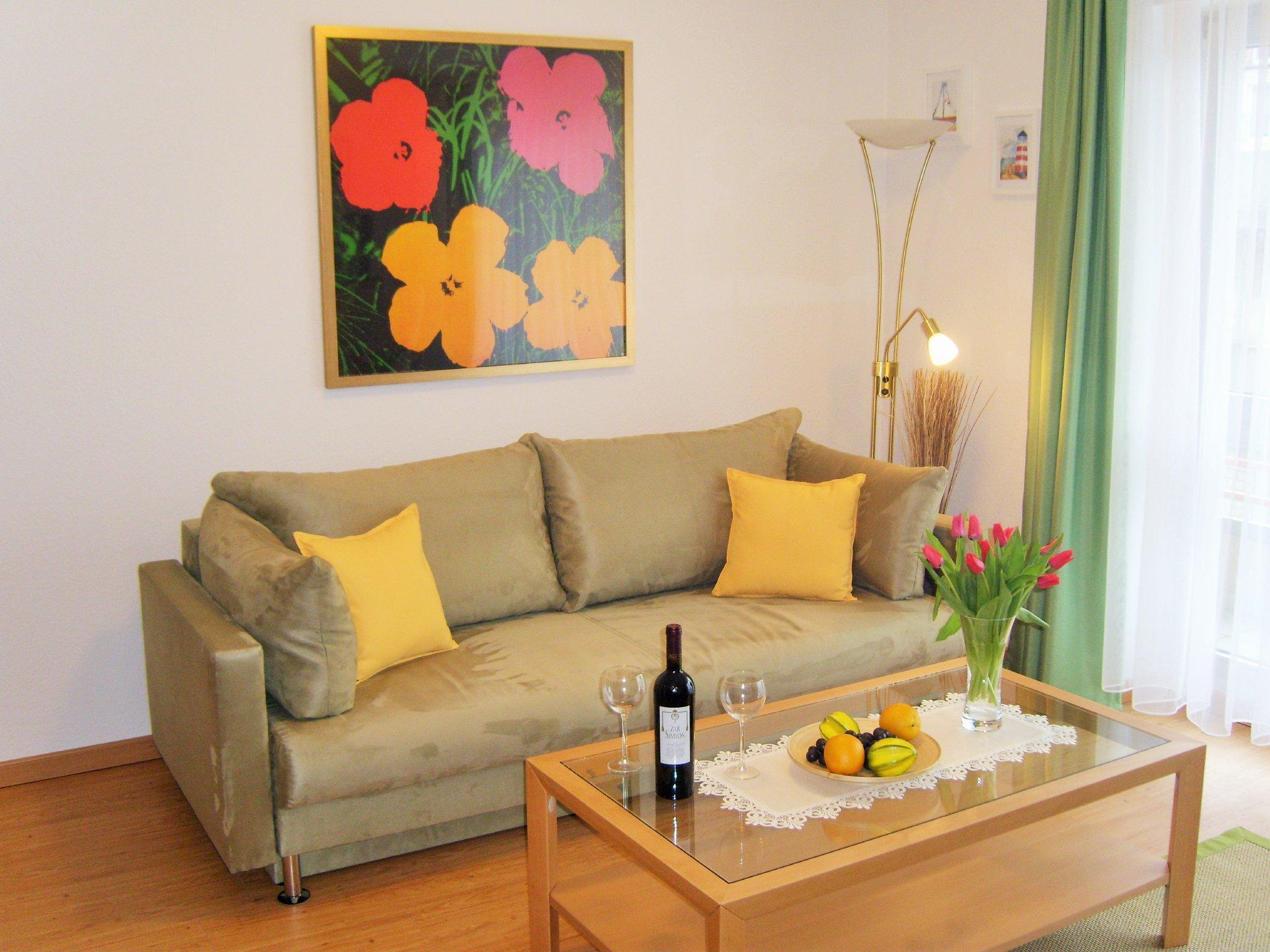 Die bequeme (Schlaf)Couch im Wohnzimmer