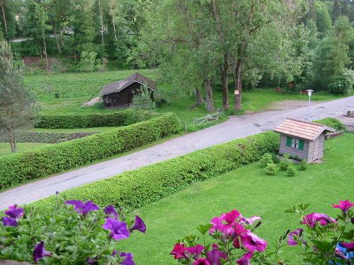 Blick vom Wohnzi. auf Liegewiese