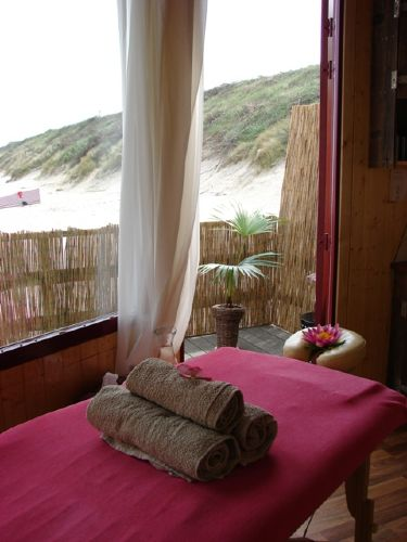 Massage am Strand